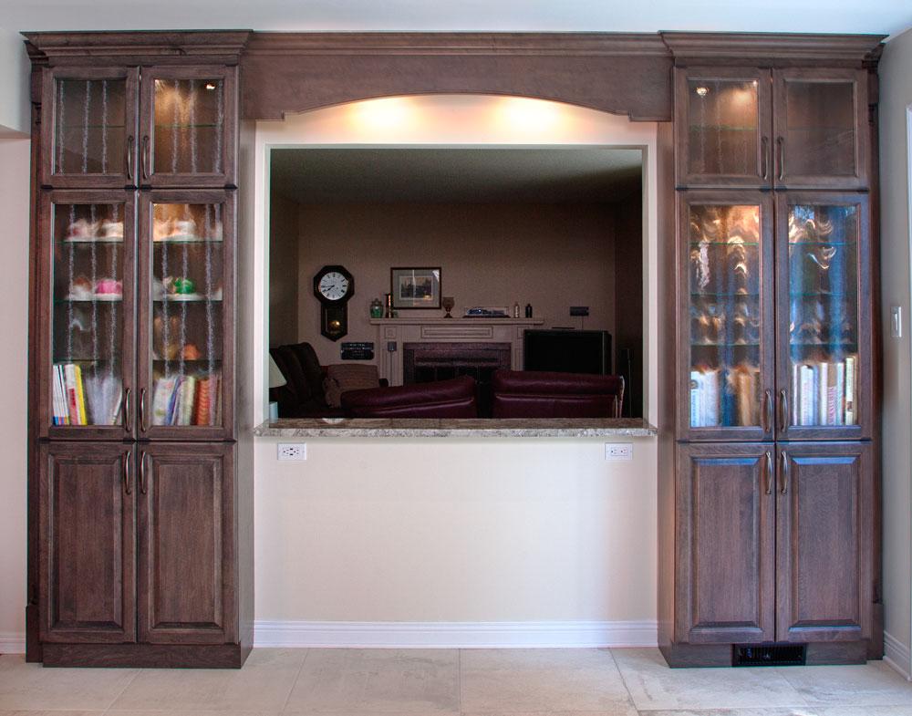 Photos de cuisines armoires de cuisine classique 100 mile for Armoire de cuisine gatineau