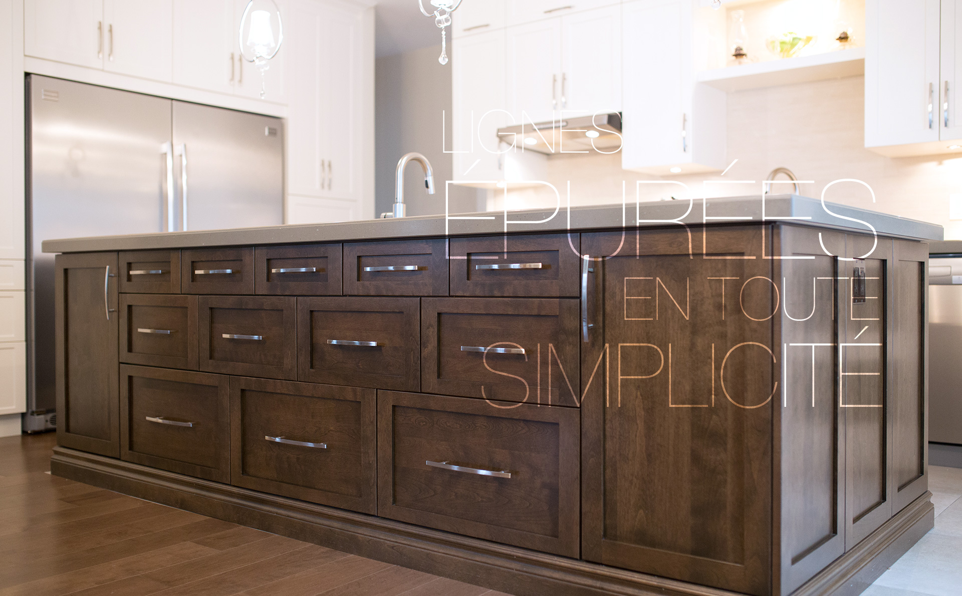 Faux Kitchen Cabinets